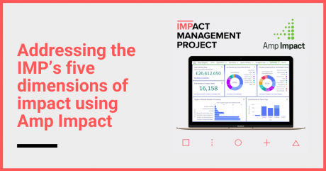 Impact Management Project's 5 dimensions of impact