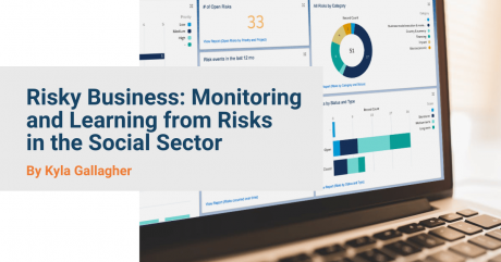 Risky Business: monitoring and learning from risks in the social sector